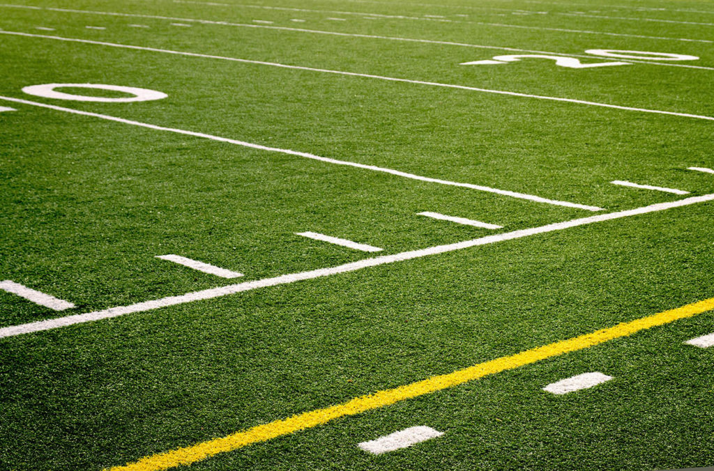 football field turf care